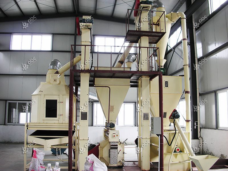 1-3TPH Small Cattle Feed Pellet Plant