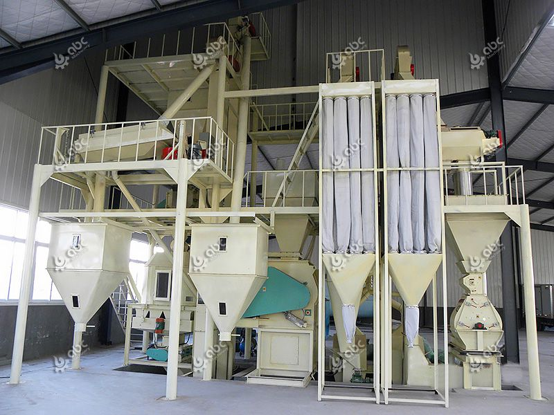 2-5 TPH Animal Feed Making Machine for Sale