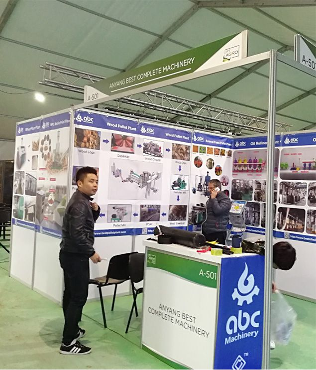 our booth - ABC Machinery