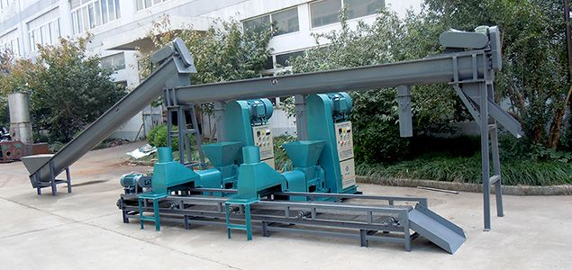 2tph Charcoal Briquette Production Line