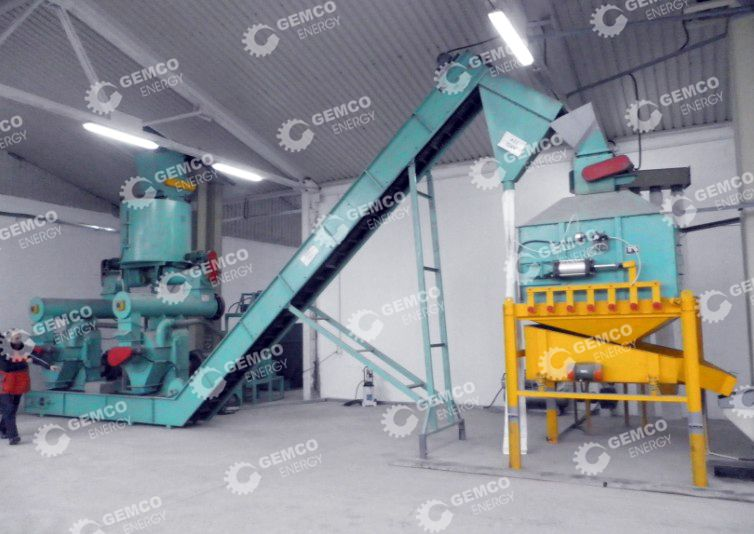 Complete Wood Pelleting Line