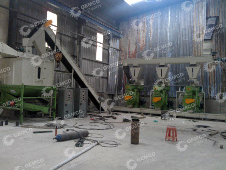 Wood Pelleting Line