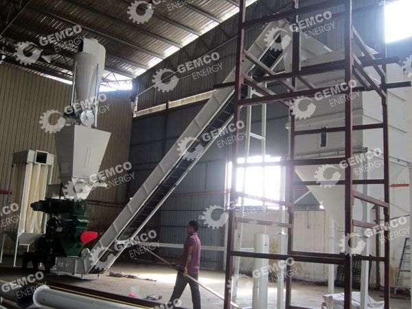 EFB Pellet Making Plant