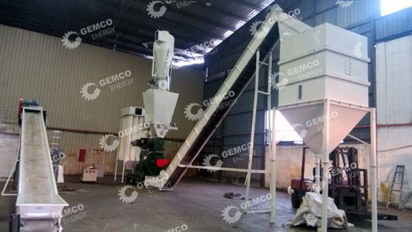 EFB Pellet Making Machine
