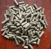 Grass powder pellet