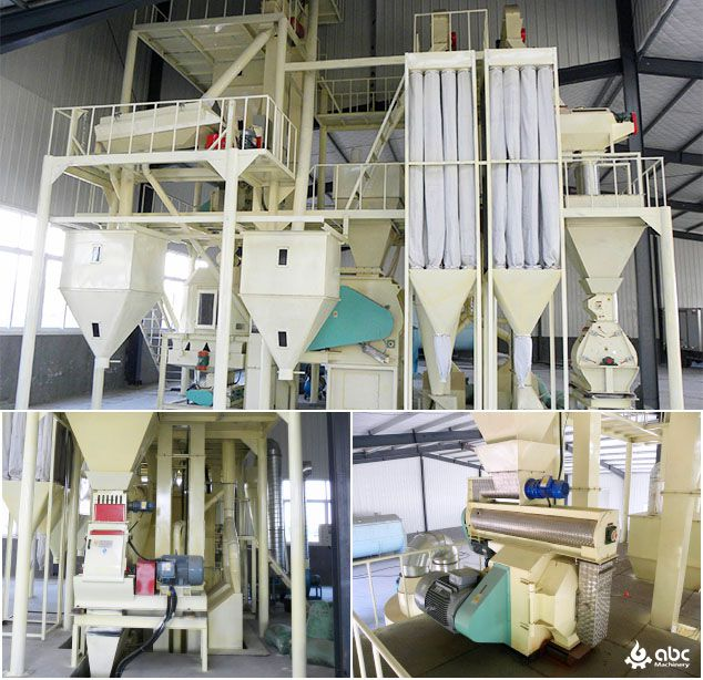 low cost animal feed mill plant layout