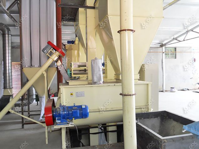 animal feed mixing process and machinery