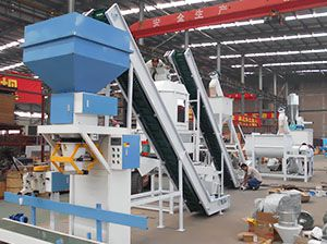 2 ton/h Animal Feed Processing Machine Line