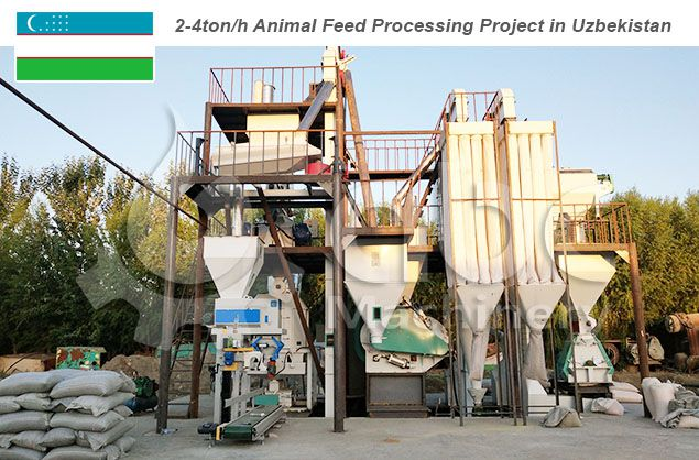 animal feed processing equipment in Uzbekistan