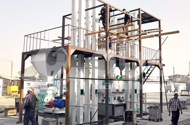 low cost animal feed processing plant details