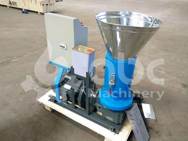back side of the biofuel pelleting machine for sale at factory price