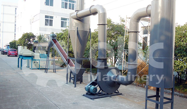 biomass briquetting plant for processing pine wood sawdust