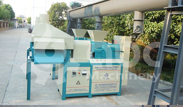 biomass briquetting press machine for making solide energy briquettes
