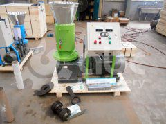 Advanced Small Biomass Pellet Machine Exported to Thailand