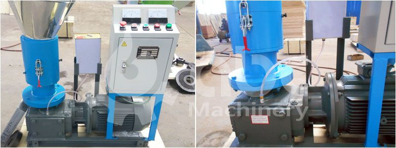 lubrication system of gemco biomass pellet machine for sale