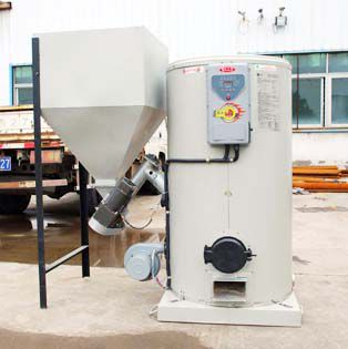 biomass water boiler for wood branches, sawdust, husk straw