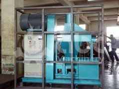 Briquette Machine for Rice Husk Exported to Germany