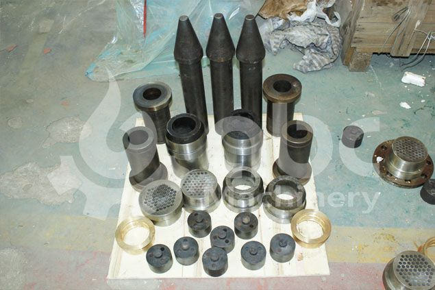 spare parts of the solid fuel briquette machine