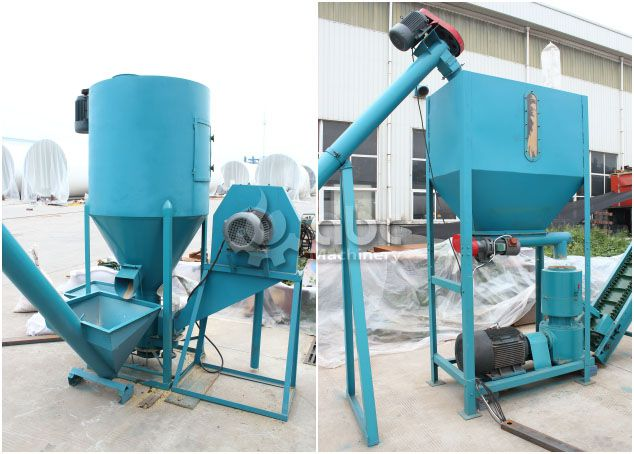 cattle feed pellet mill plant for pelleting pellets for poultry animals