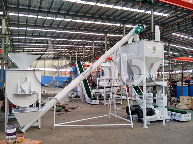 cattle feed production unit for small to medium feed factory