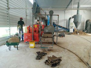 1ton/h Sugarcane Bagasse Briquette Manufacturing Plant in South Africa
