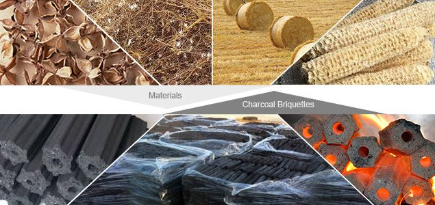 Charcoal Briquetting Types