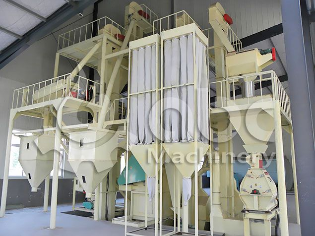 chicken feed making machine unit for small to medium scale fodder production