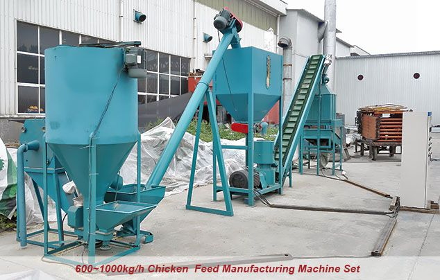 chicken feed manufacturing machine set for poutlry farmer