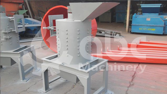 coal crushing equipment in the black and brown coal extruding project