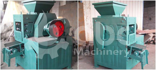 coal briquetting press machine for large scale production plant project
