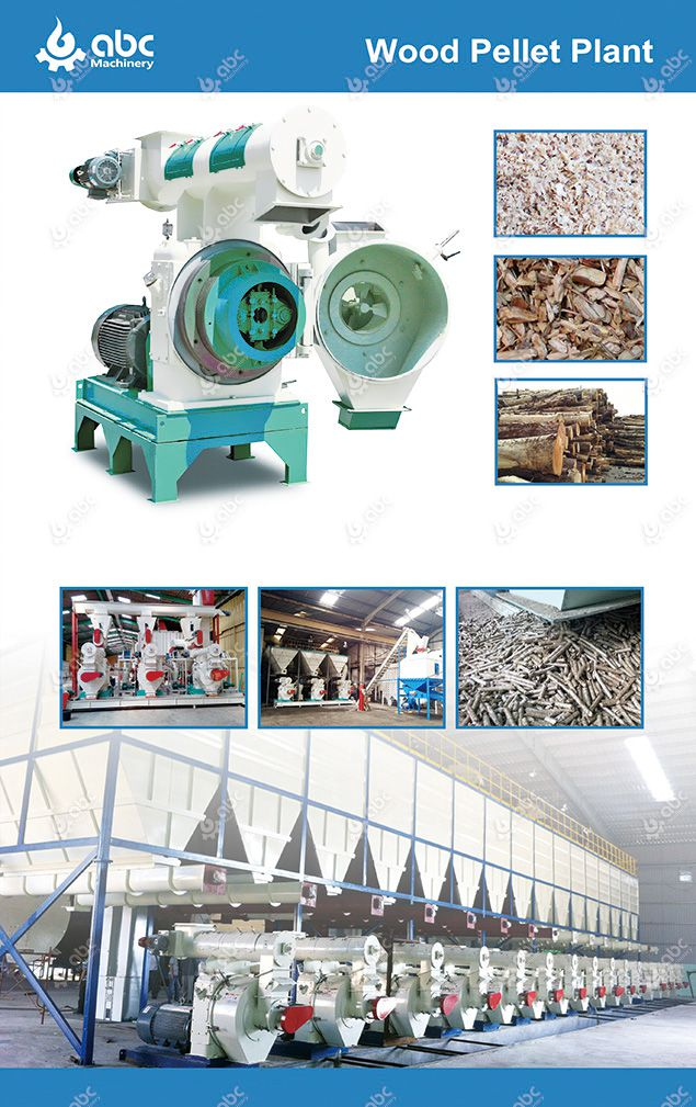 commercial wood pellet machine for industrial biomass processing