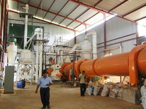 2TPH Complete Fuel Pellet Making Production Line in Sir Lanka