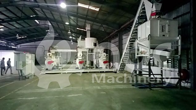 complete sawdust pellet production line for low cost business plan