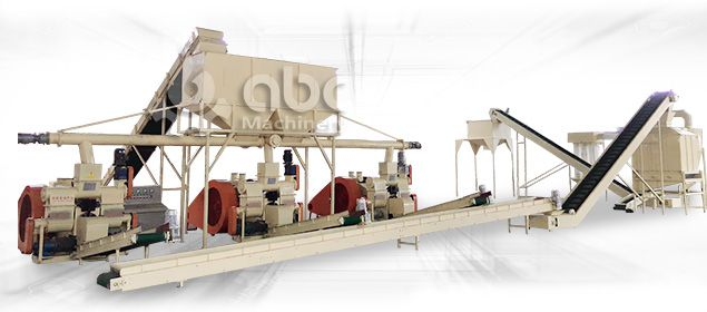 build a large scale wood briquetting production line with limited cost