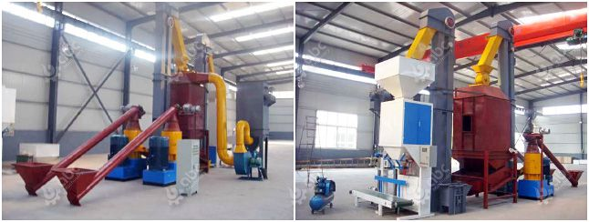 maize / corn stalk pellet mill plant