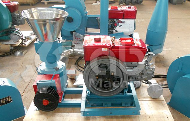 small animal feed making machinery for poultry, cattle, cattle fish