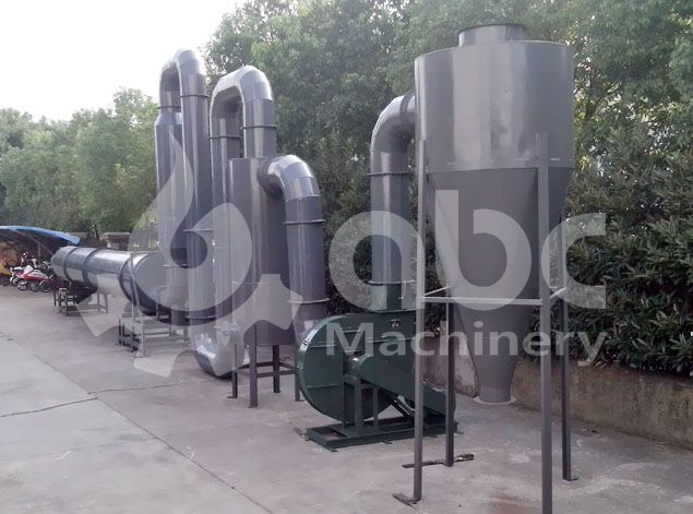 drying system of briquette plant - large scale briquette making business plan