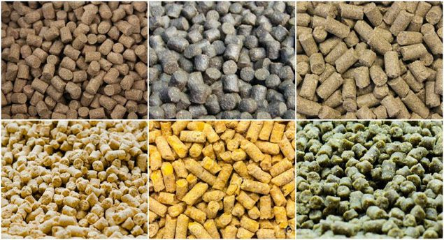 extruded poultry cattle feed pellets