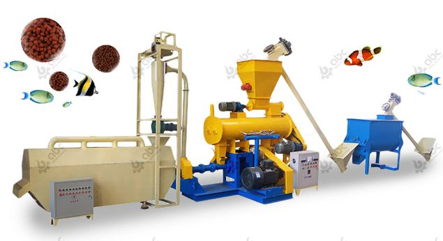 small to medium scale extrusion feed processing plant equipment