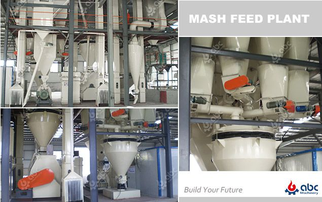 poultry mash feed plant factory layout design