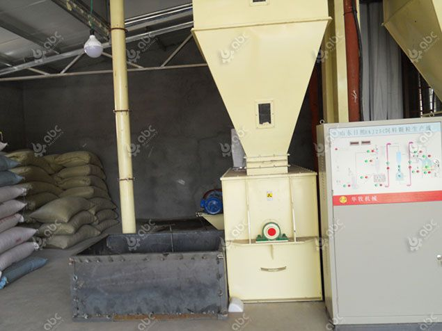 feed plant electronic control system