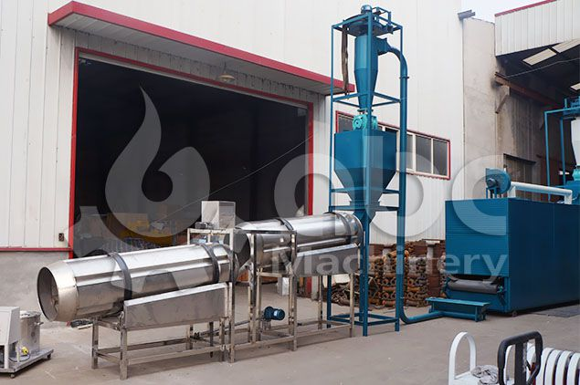 fish feed flavor roller machine for sale at factory price