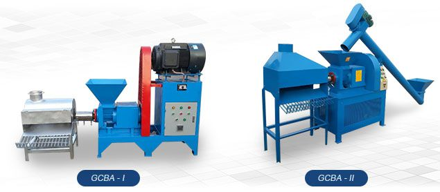 gcba series screw briquetting machine for small to medium production