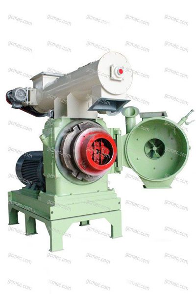large pellet machine