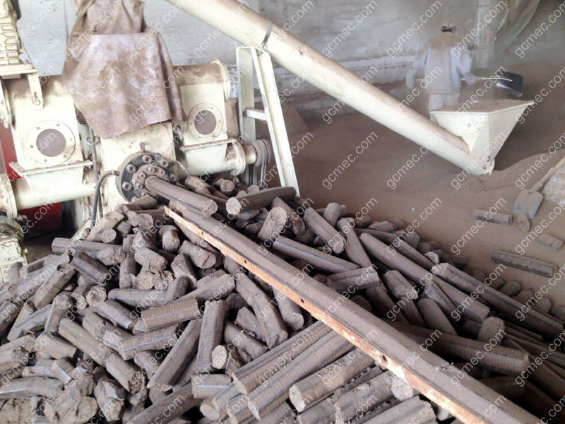 Licorice Root Briquetting