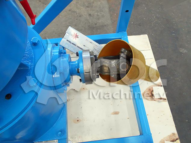 home use machine for making sawdust pellets