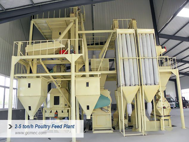 medium scale poultry feed plant for sale