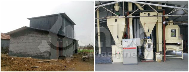 establish mini poultry feed mill plant