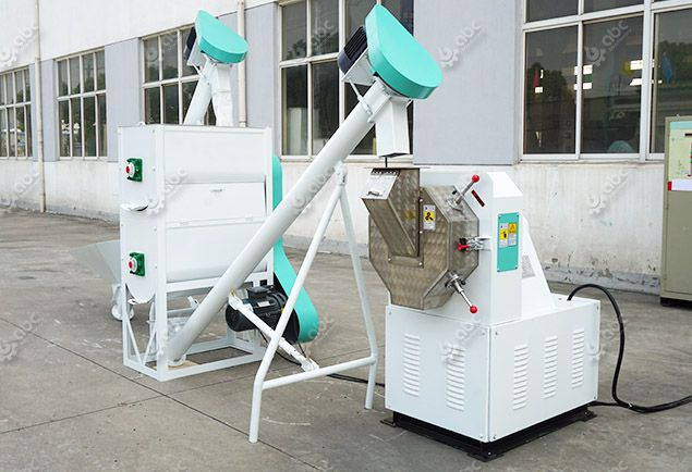 mini poultry feed plant for small feedstuff processing line