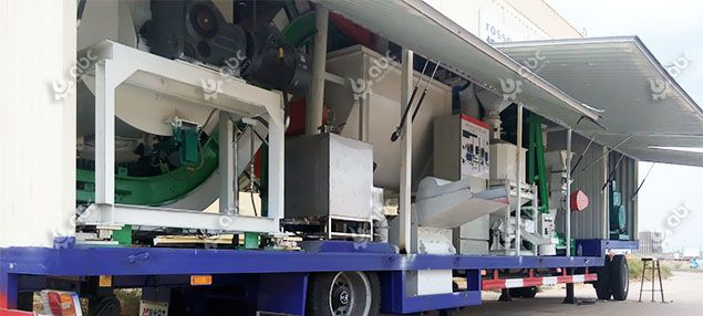 mobile cattle feed manufacturing machine set for sale at factory price